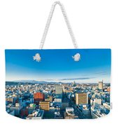 A Cold Sunny Day In Sendai Japan Weekender Tote Bag