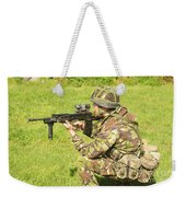 A Coldstream Guard Training In Scotland Weekender Tote Bag