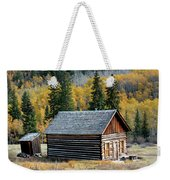 A Colorado Cabin Weekender Tote Bag