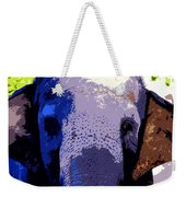 A Colorful Elephant Work Number 1 Weekender Tote Bag