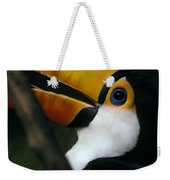 A Colorful Toco Toucans Blue Eye Weekender Tote Bag