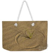 A Compass In The Sand Weekender Tote Bag