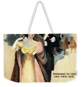 A Contented Woman, C1898 Weekender Tote Bag