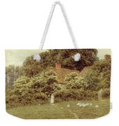 A Cottage At Farringford Isle Of Wight Weekender Tote Bag