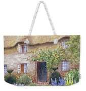 A Cottage Garden In Full Bloom Weekender Tote Bag