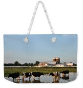 A Cow's Day At The Beach Weekender Tote Bag