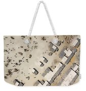 A Crowded Camel Market In Nguigmi Weekender Tote Bag