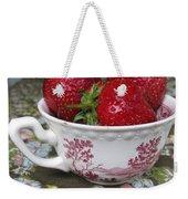 A Cup Of Strawberries Weekender Tote Bag