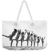 A Dance To The Morning Sun Weekender Tote Bag