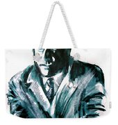 A Dapper Brit-portrait Of Ron Moody Weekender Tote Bag