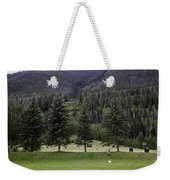 A Day At The Park In Vail Weekender Tote Bag