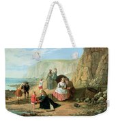 A Day At The Seaside Weekender Tote Bag by William Scott