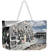 A Day In Bar Harbor Weekender Tote Bag