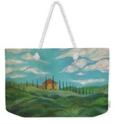 A Day In Tuscany Weekender Tote Bag by John Keaton