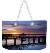 A December Sky Weekender Tote Bag