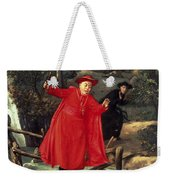 A Delicate Balance Weekender Tote Bag by Francois Brunery