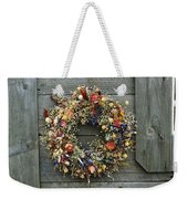 A Delicate Dried Flower Wreath Adorns Photograph By Bill