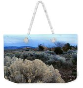 A Desert View After Sunset Weekender Tote Bag