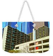 A Different Perspective On Downtown Los Angeles I Weekender Tote Bag