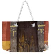 A Door In A Painted Building Weekender Tote Bag