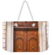 A Door In Arles Weekender Tote Bag