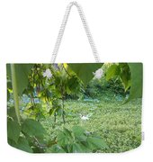 A Dot Of White Weekender Tote Bag