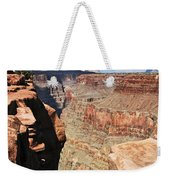 A Face In The Rock Weekender Tote Bag