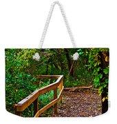 A Fall Walk Weekender Tote Bag