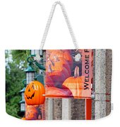 A Fall Welcome Weekender Tote Bag