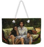 A Family Portrait Weekender Tote Bag