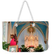 A Farewell To Pope John Paul II Weekender Tote Bag by Kristin Elmquist