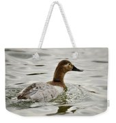 A Female Canvasback Duck  Weekender Tote Bag