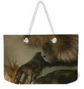 A Female Gelada, Theropithecus Gelada Weekender Tote Bag