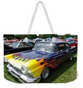 A Flaming Ride Weekender Tote Bag