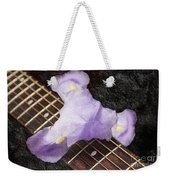 A Flower Music And Romance Weekender Tote Bag