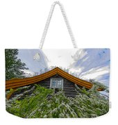 A Flowery House In Norway Weekender Tote Bag