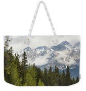 A Forest And The Rocky Mountains Weekender Tote Bag