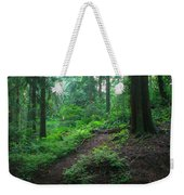 A Forest Green Weekender Tote Bag