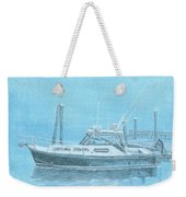 A Fortier Docked In Maine Weekender Tote Bag