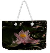 A Fractual Lily Weekender Tote Bag
