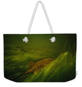 A Freshwater Stingray Swims In A Meadow Weekender Tote Bag