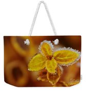 A Frosted Plant Weekender Tote Bag