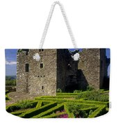A Garden In Front Of Tully Castle Near Weekender Tote Bag