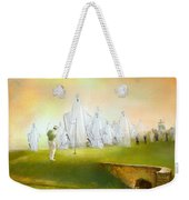 A Ghost Of A Chance Weekender Tote Bag