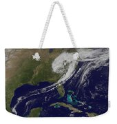 A Giant Swirl Of Clouds Weekender Tote Bag
