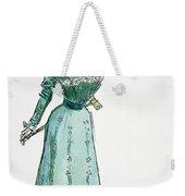 A Gibson Girl, 1899 Weekender Tote Bag