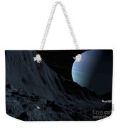 A Gigantic Scarp On The Surface Weekender Tote Bag by Ron Miller