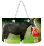 A Girl And Her Horse Weekender Tote Bag