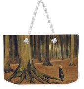 A Girl In A Wood Weekender Tote Bag