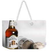 A Glass Of Fursty Ferret Weekender Tote Bag